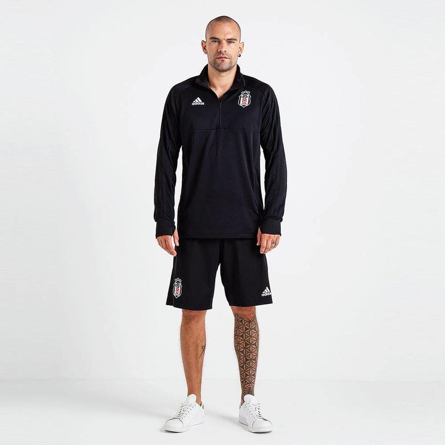 Adidas Beşiktaş 2018-19 Sweat avec demi-fermeture éclair BS0602