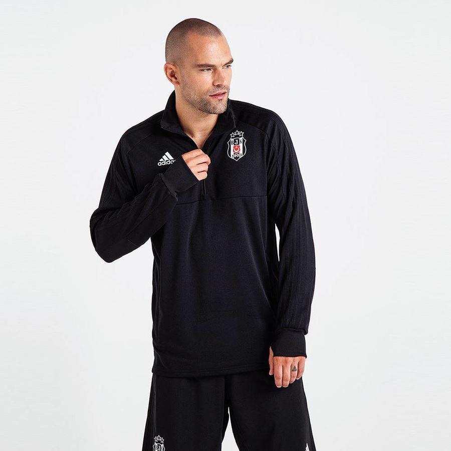 Adidas Beşiktaş 2018-19 Sweater met halve rits BS0602