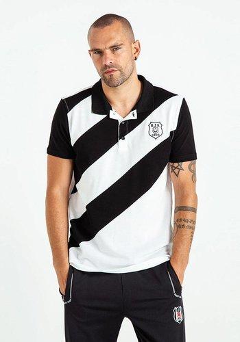 Beşiktaş Diagonaal Polo T-Shirt Heren 7819150