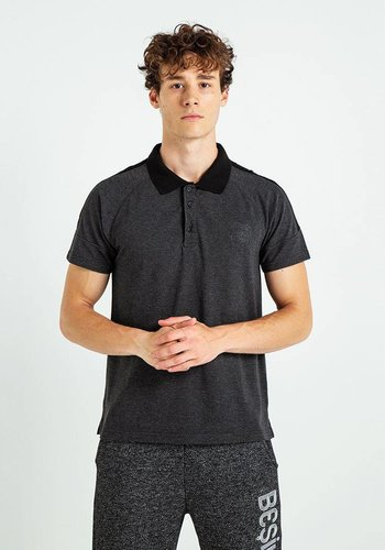 Beşiktaş Mens Plain Basic Polo T-Shirt 7819151