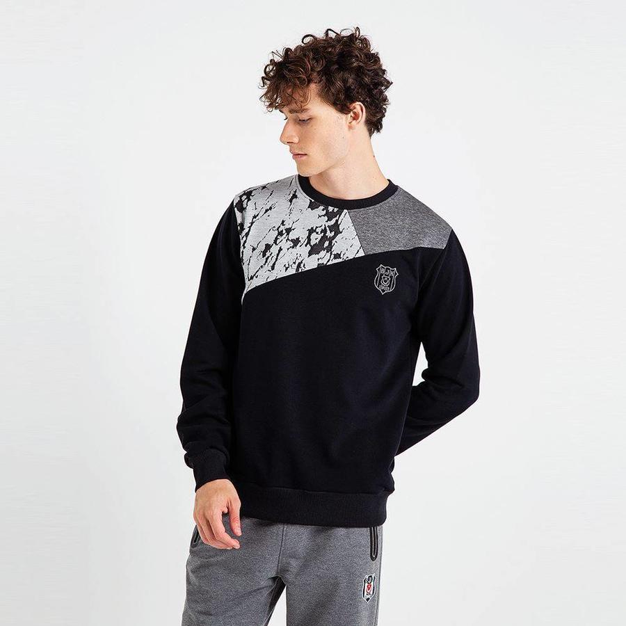 Beşiktaş Patch sweater Heren 7819210