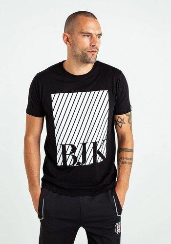 Beşiktaş Mens Diagonal printed T-Shirt 7819103