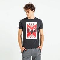 Beşiktaş Feature Eagle T-Shirt Herren 7819110 Anthrazit Melange