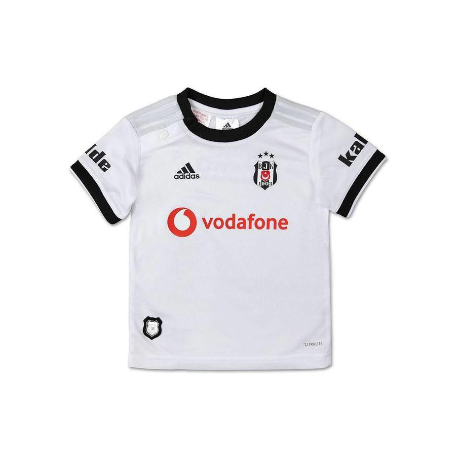 Adidas Beşiktaş Mini shirtset Weiss 18-19