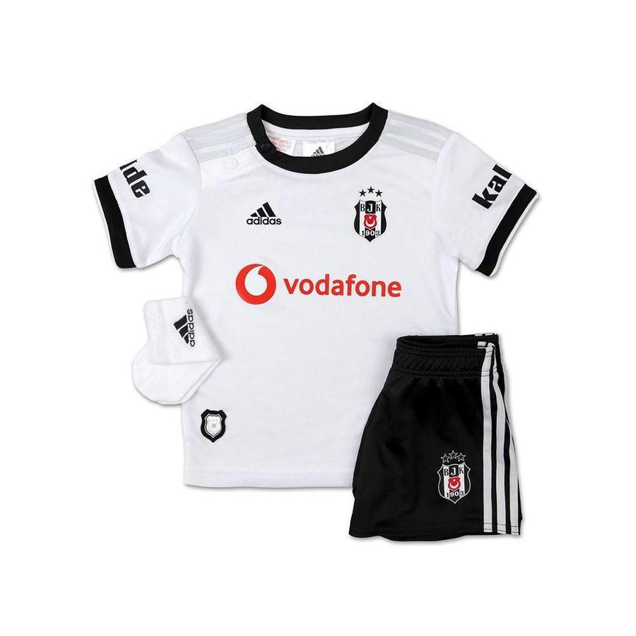 Adidas Beşiktaş Mini shirtset Wit 18-19