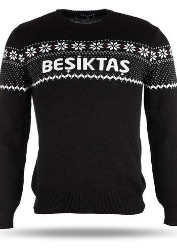 Beşiktaş Sweater Neujahr Gestrickt 2019