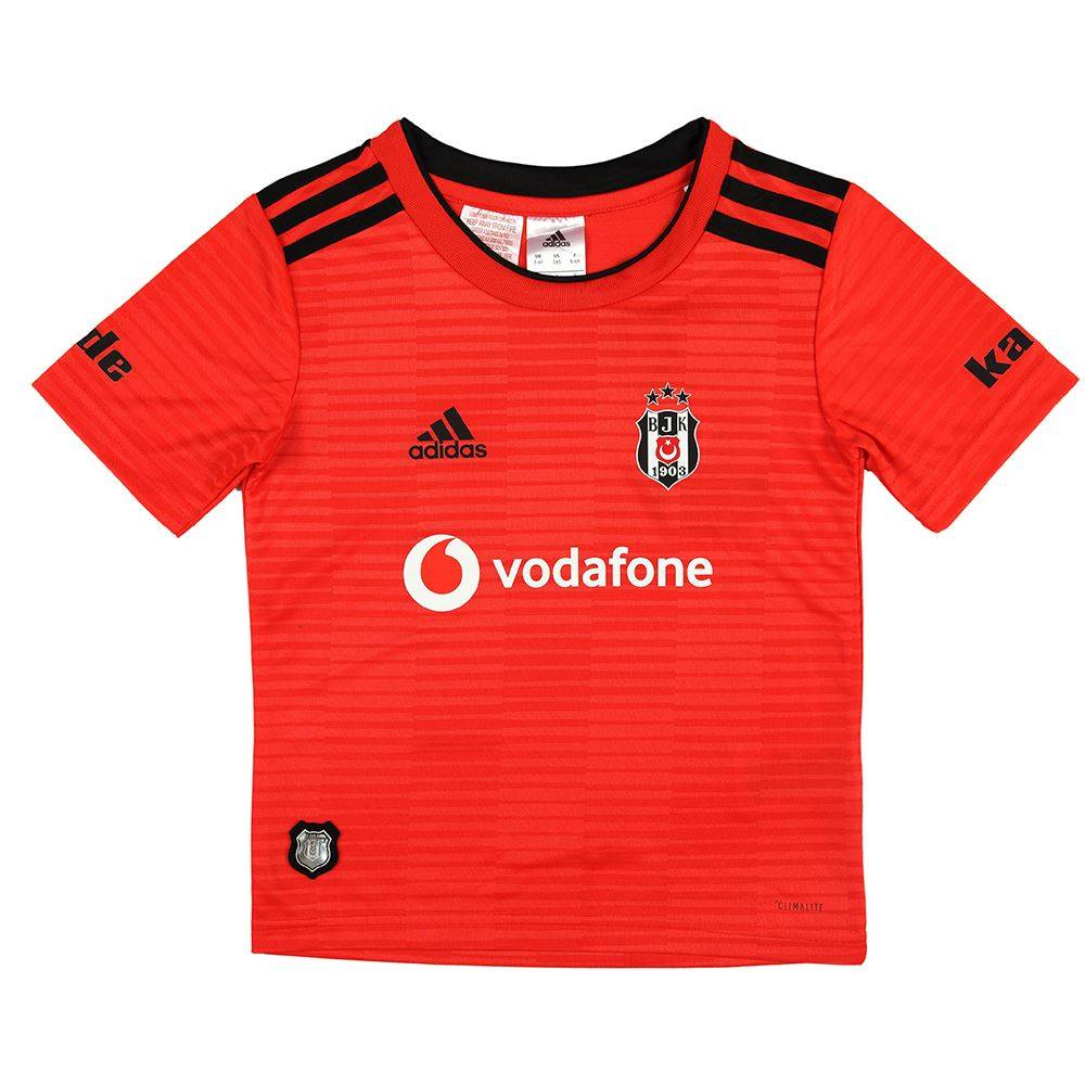 Adidas Beşiktaş Mini shirtset Rood 18 19