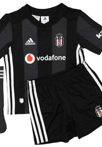 Adidas Beşiktaş Mini shirtset Zwart 18-19