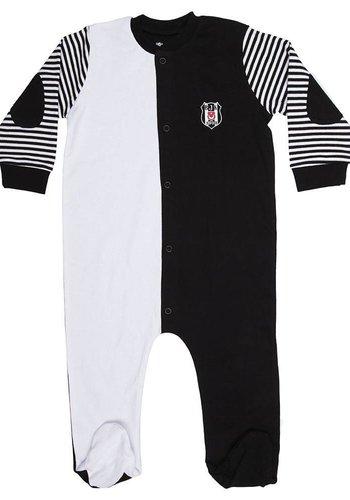 Beşiktaş Baby Romper K18-127 White