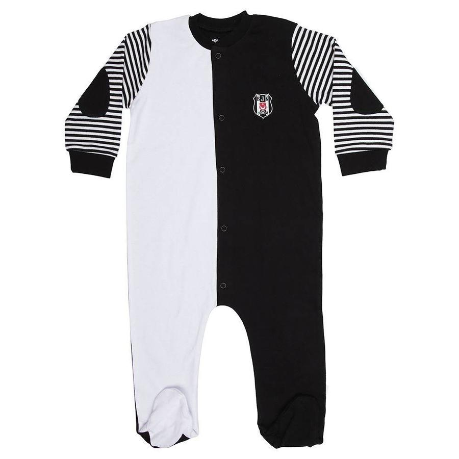 Beşiktaş Babystrampler K18-127 Weiss