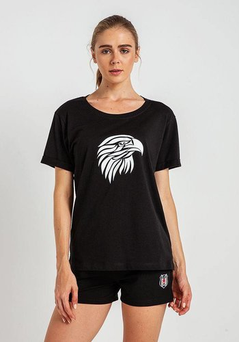 Beşiktaş Womens Eagle Wings T-Shirt 8819129