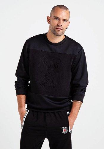Beşiktaş Logo Monochrome Sweater Heren 7819205