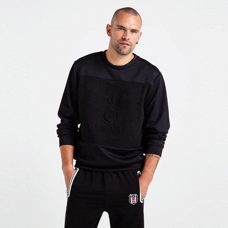 Beşiktaş Logo Monochrome Sweater Herren 7819205
