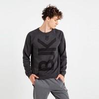 Beşiktaş Mens Vertical Monochrome Sweater 7819206