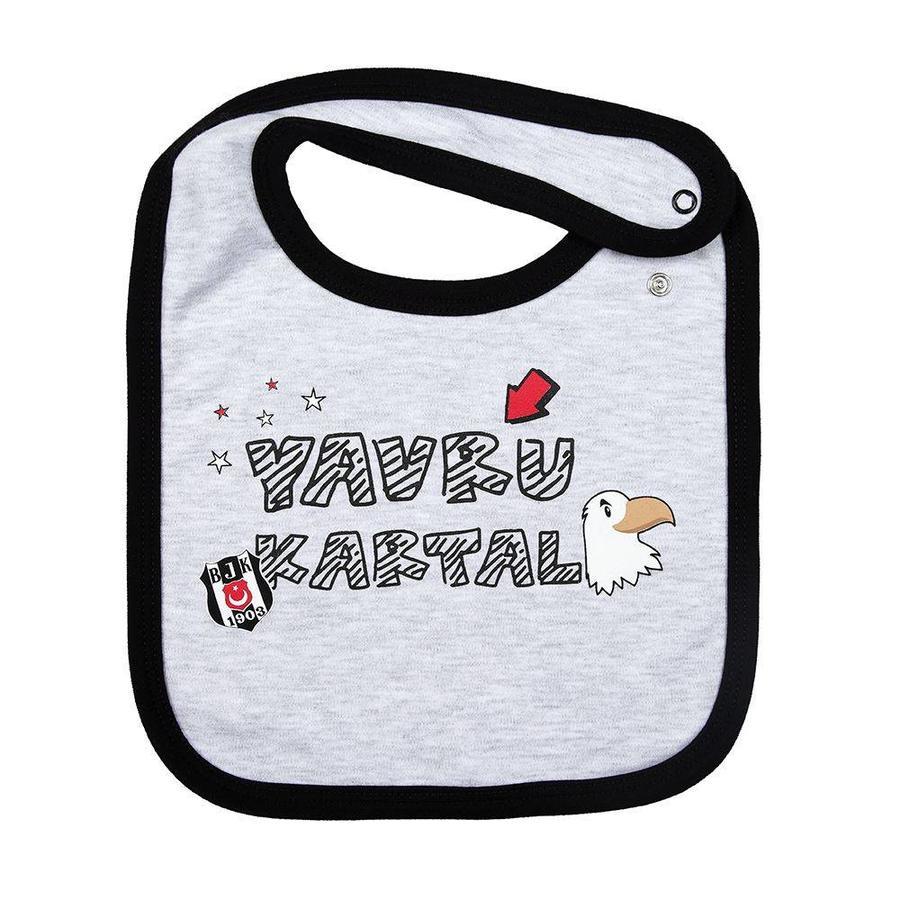 Beşiktaş Baby Slabbetje K18-146 Grijs
