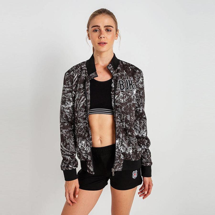 Beşiktaş Womens Eagle Print Jacket 8819504