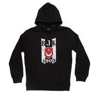Beşiktaş Logo Hooded Sweater Kinderen 6819214