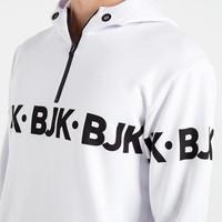 Beşiktaş Allover Print Hooded Sweater Heren 7819215