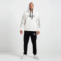 Beşiktaş 1903 Allover Hooded Sweater Heren 7819226 Beige
