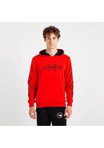 Beşiktaş Mens 1903 Allover Hooded Sweater 7819226 Red