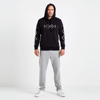 Beşiktaş 1903 Allover Hooded Sweater Heren 7819226 Zwart