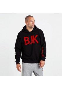 Beşiktaş Mens Flock BJK Hooded Sweater 7819216 Black