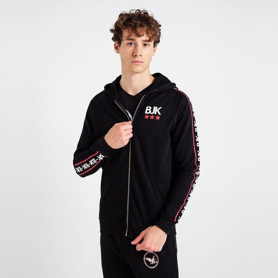 Beşiktaş 3D Side Hooded Sweater Heren 7819230