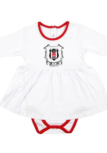 Beşiktaş Girls Baby Long Sleeved Body K18-112 White