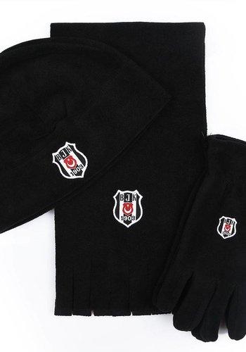 Beşiktaş Polar Sjaal muts handschoenset