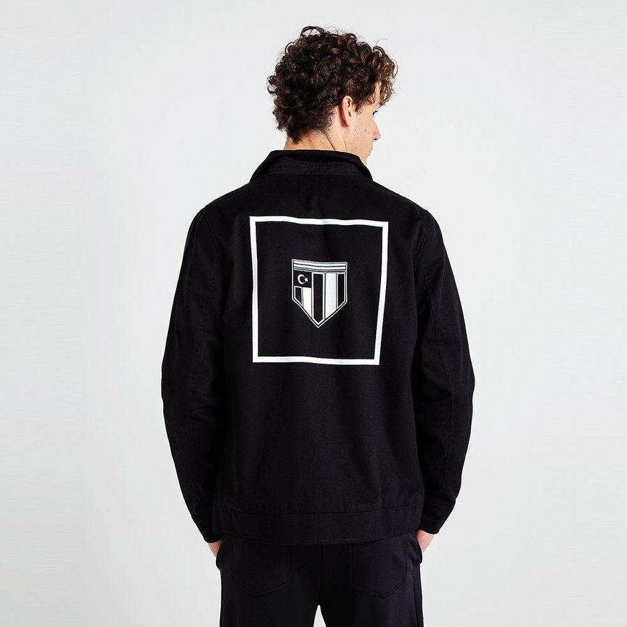 Beşiktaş Mens Vintage Logo Jacket 7819503