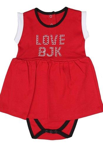 Beşiktaş Mädchen Baby Body Y19-101 Rot