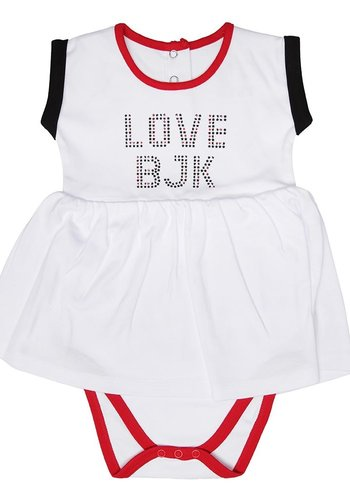 Beşiktaş Meisjes Baby Body Y19-101 Wit