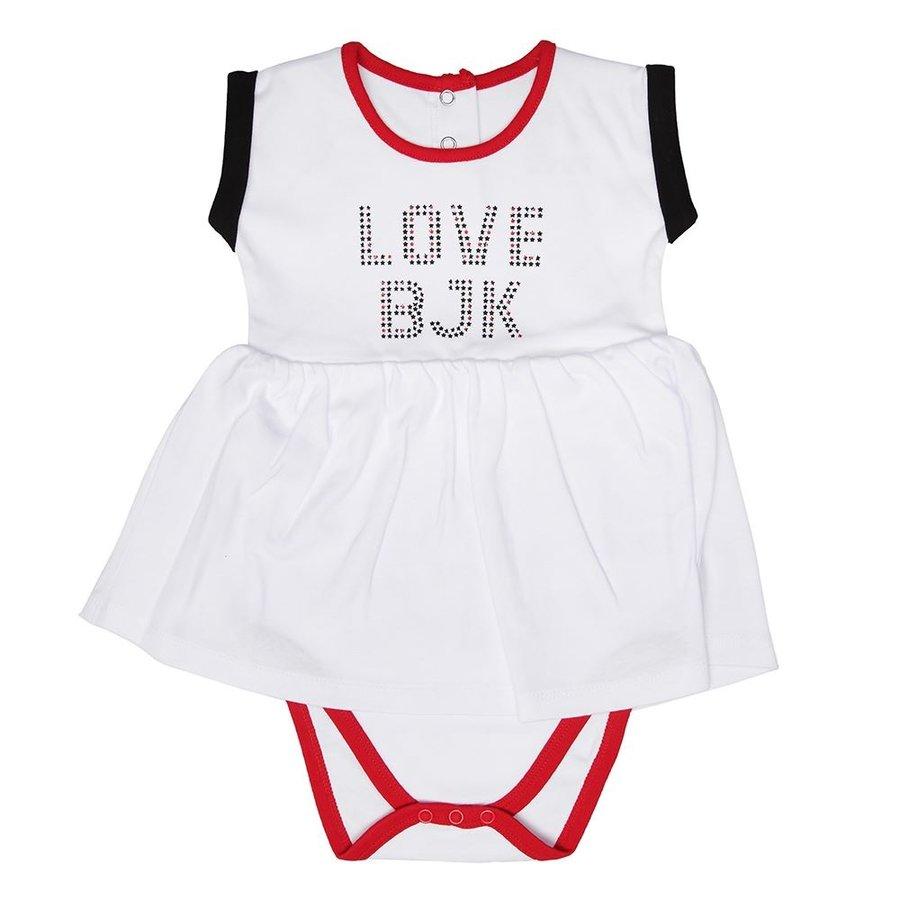Beşiktaş Mädchen Baby Body Y19-101 Weiss