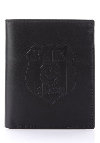 Beşiktaş Leather Wallet (CZD)-509 9Y