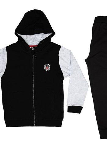 Beşiktaş Kapuzen Trainingsanzug Kinder Y19-150