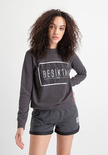 Beşiktaş Womens Feather Print Sweater 8919203