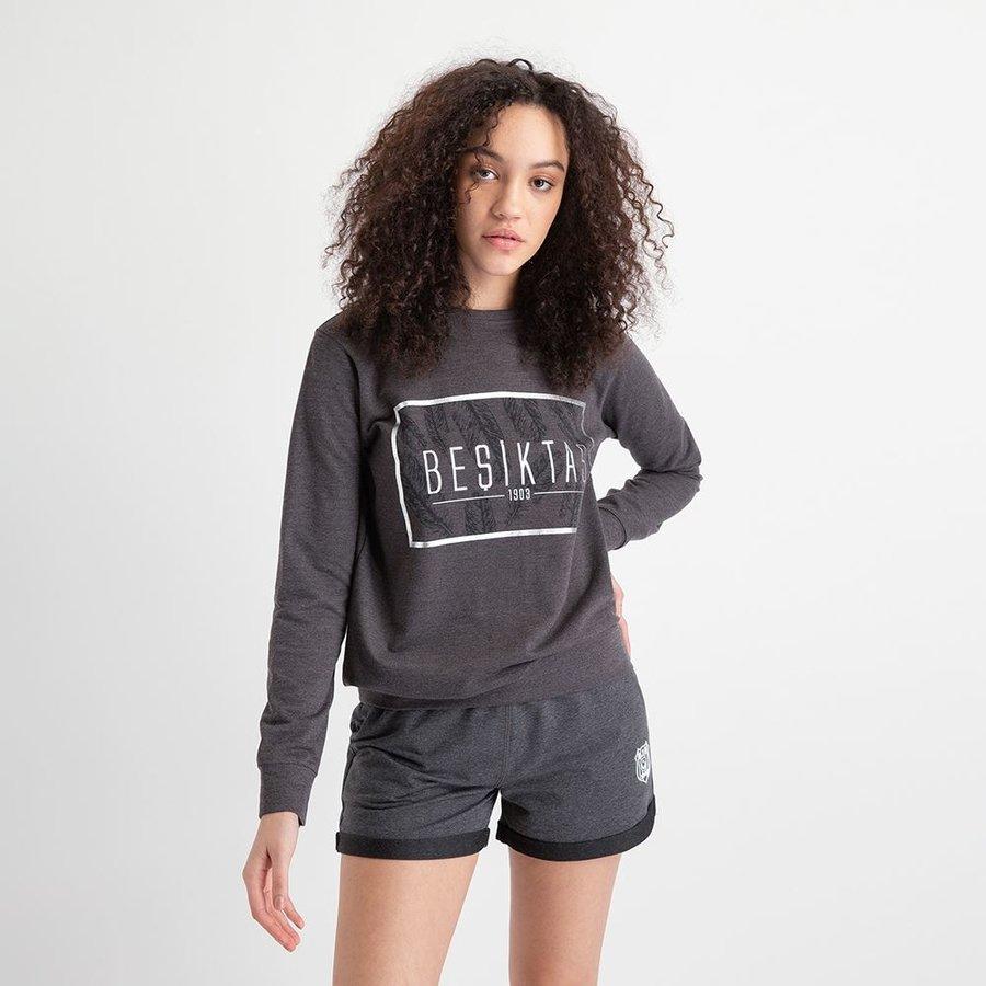 Beşiktaş Feather Print Sweater Damen 8919203