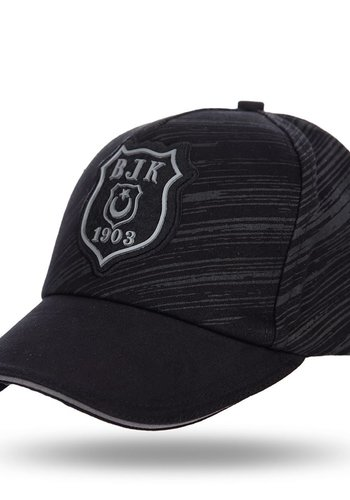 Beşiktaş Logo Monochrome Cap 07 Black