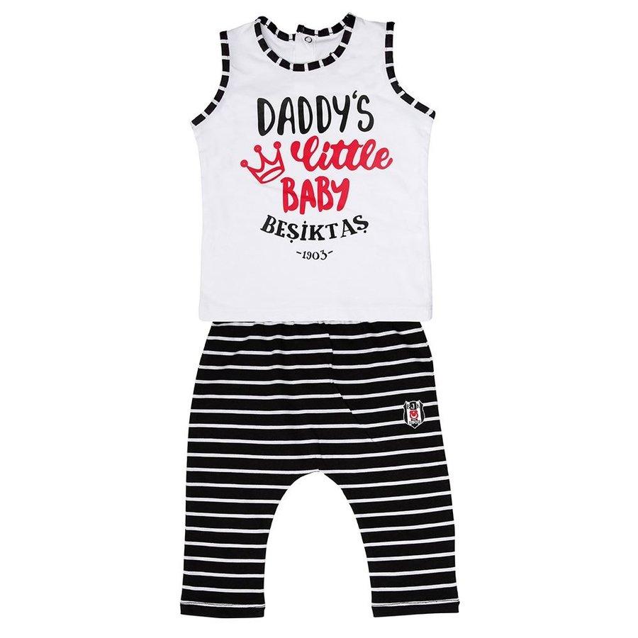 Beşiktaş Baby Set 2 st. Y19-122 Weiss