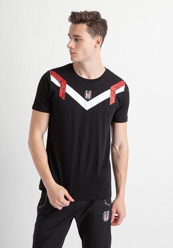 Beşiktaş Retro Eagle T-Shirt Heren 7919115 Zwart