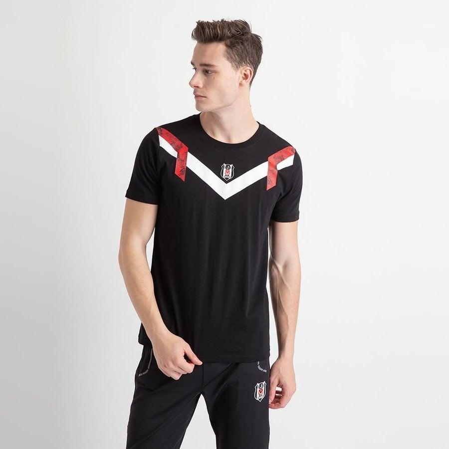 Beşiktaş Retro Eagle T-Shirt Herren 7919115 Schwarz