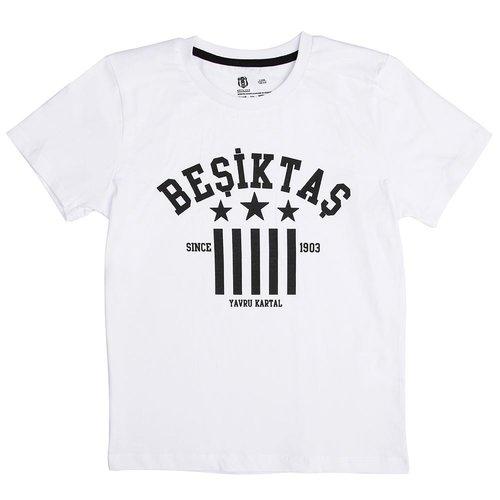 Beşiktaş Kids T-Shirt Y19-134 White