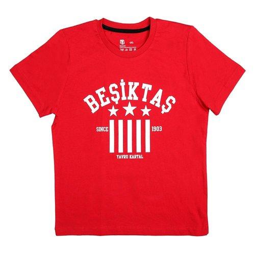 Beşiktaş Kids T-Shirt Y19-134 Red