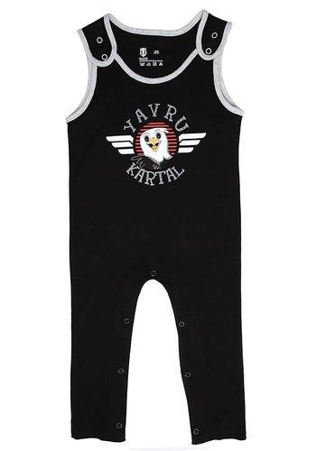 Beşiktaş 'Yavru Kartal' Baby Romper Y19-125 Black
