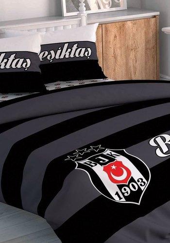 Beşiktaş BJK Gestreift Bettwäsche set 2 Personen