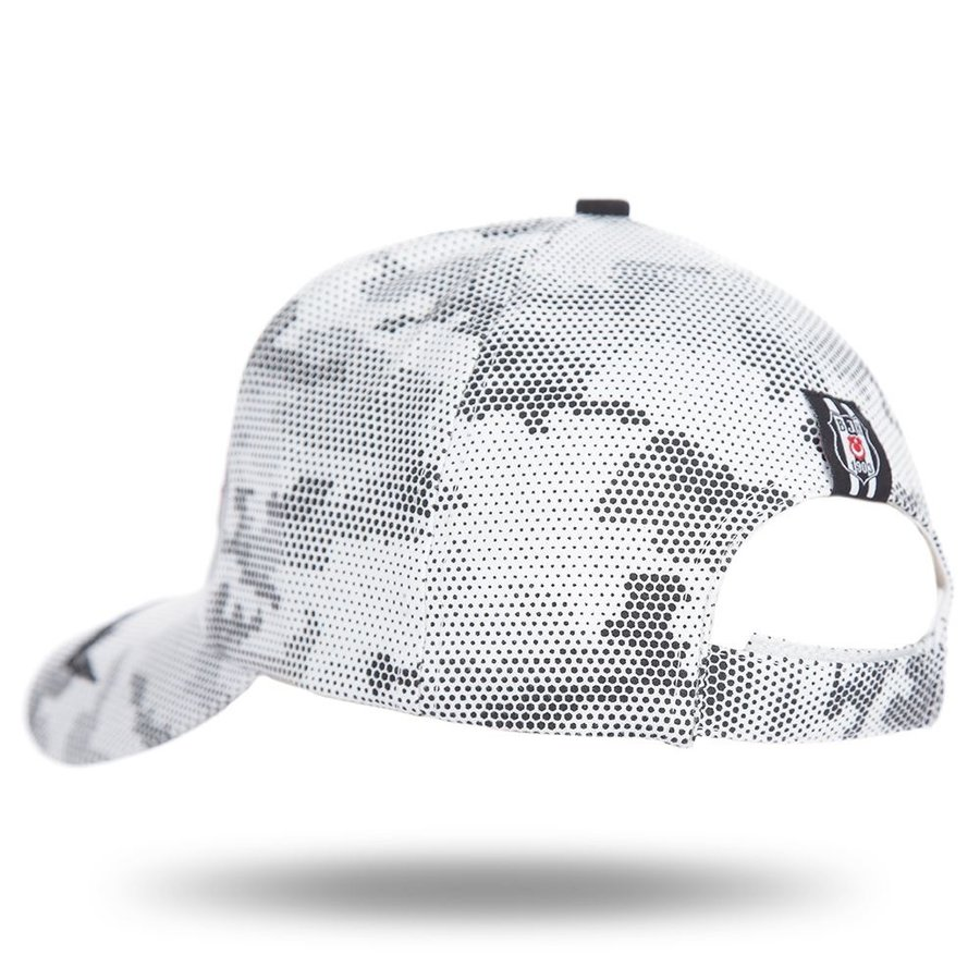 Beşiktaş Camouflage Cap 12 Black-White