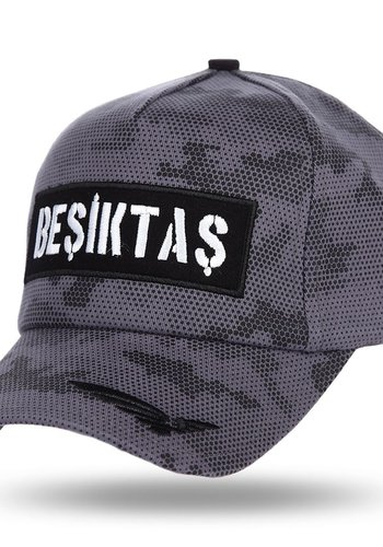Beşiktaş Camouflage Pet 12 Grijs-Melange