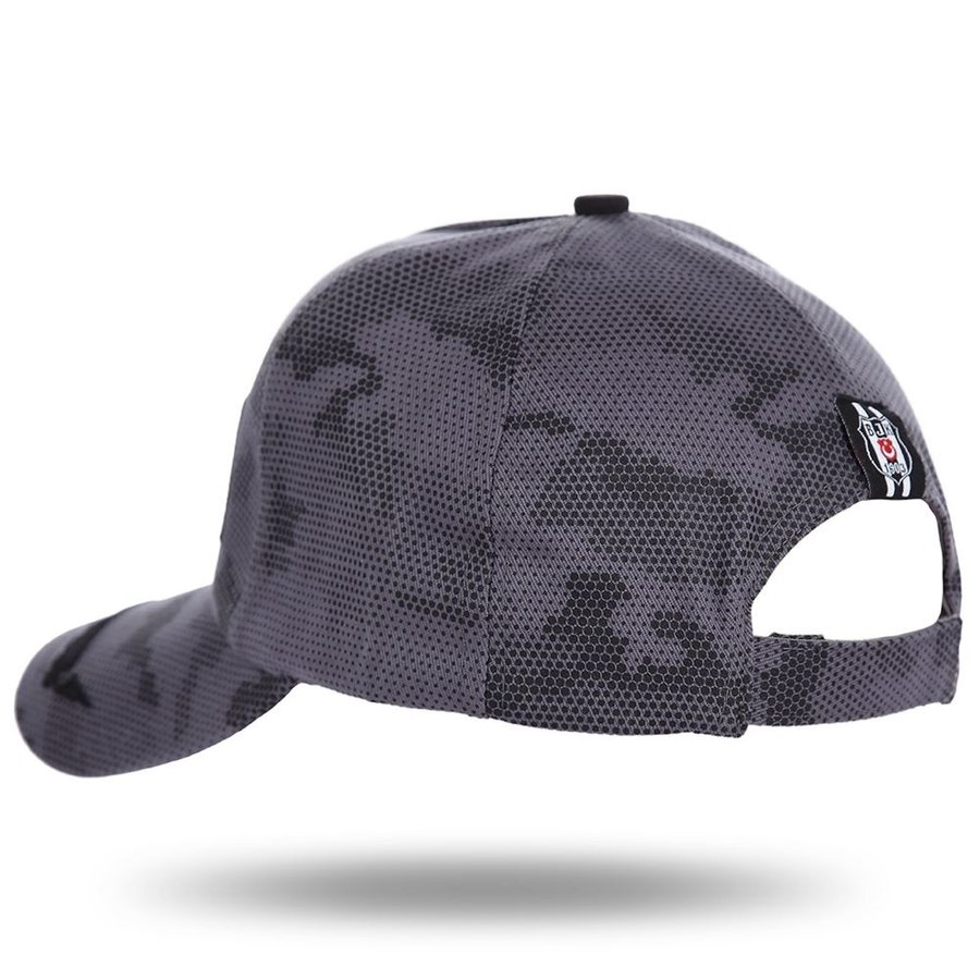 Beşiktaş Camouflage Kappe 12 Grau Melange