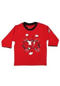 Beşiktaş Baby T-Shirt lange mouwen K18-118 Rood