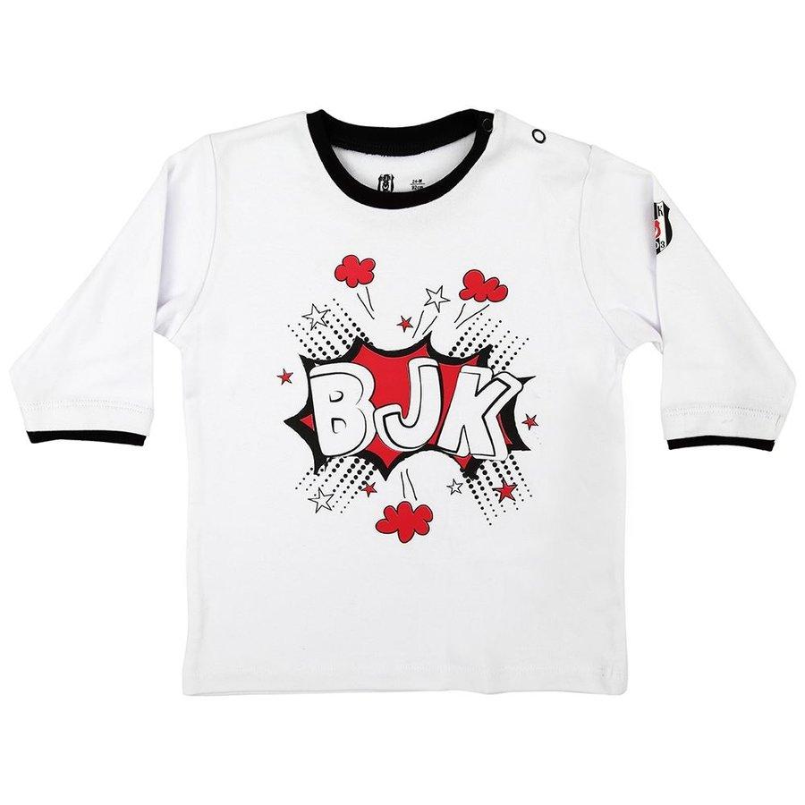 Beşiktaş Baby T-Shirt lange mouwen K18-118